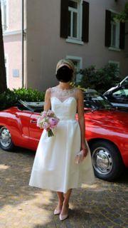 Wunderschönes Brautkleid kurz Gr 32