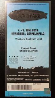 ROCK IM PARK 2019 Festivalticket