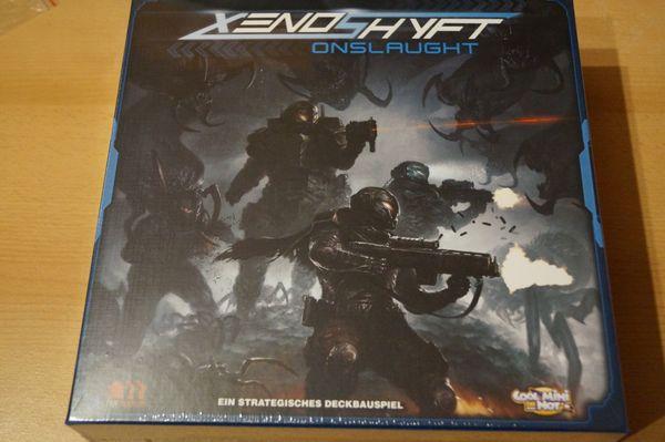 Xenoshyft Onslaught - Deckbuilder NEU OVP