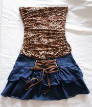 Sommerkleider mit Leopardenmuster