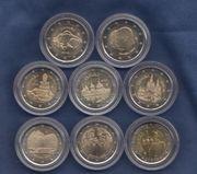 Diverse 2 Euro Gedenkmünzen - Spanien -