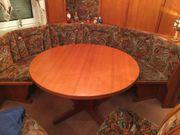 Tisch 120cm rund Kirschbaum 2