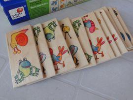 Holzspielzeug - Kleinkind-Domino Duomino Pepito Selecta