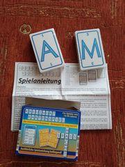 Kreuzwort-Kartenspiel neu und eingepackt - ideal