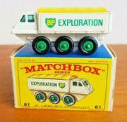 4 Matchboxautos in Originalverpackung unbespielt