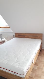 Bett inkl Matratze und Lattenrost