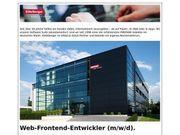 Web-Frontend-Entwickler m w d