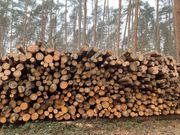 Brennholz Langholz Scheitholz Holz Hackschnitzel