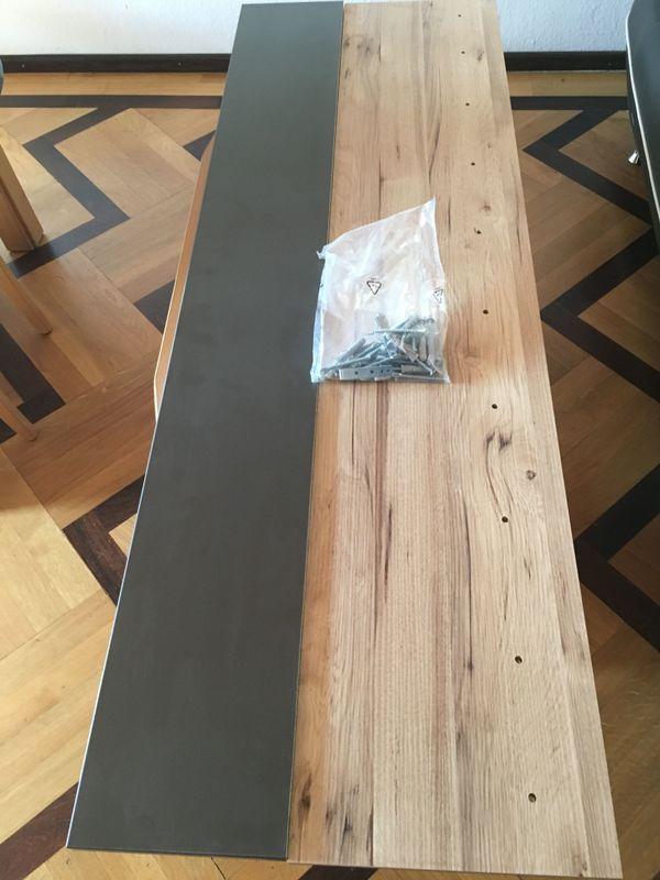 Wandregal Wandboard Forte Möbel Como Comb011 Grau Eiche L1500b