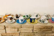 Espressotassen-Sammlung 12 Stück