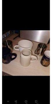 Tassen verschiedene