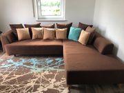 Couchlandschaft mit Bettfunktion
