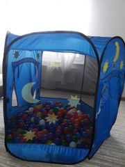 Verkaufe Kinderzelt Bällenbad mit bunte