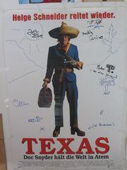 Texas Filmplakat 2X HELGE SCHNEIDER