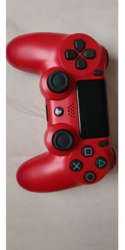 PS4 Controller V2 in Rot
