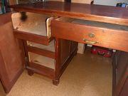 Holzkommode Schreibtisch