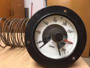 Kontakt-Thermometer mit Kapillarfühler