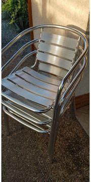 Balkon-Garten Tisch mir Stühlen Alu