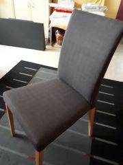 4 Esstisch-Stühle Buche hell neuwertig