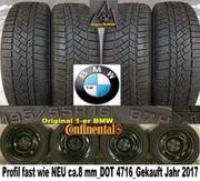 fast wie NEU BMW-1er Winterreifen