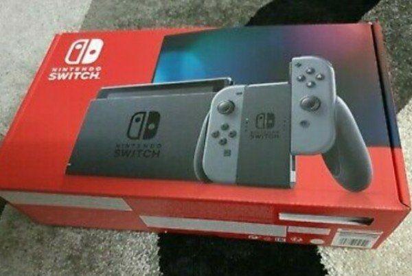 Nintendo Switch  Konsole Grau. Ungeöffnet. Garantie. Rechnung.