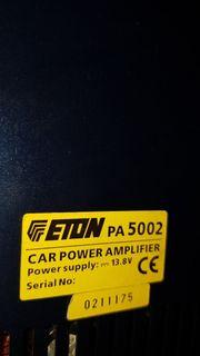 Eton Endstufe PA 5002 1000W