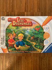 tiptoi Spiel Mission im Lese-Dschungel