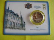 Luxemburg 2EUR Coin Card div