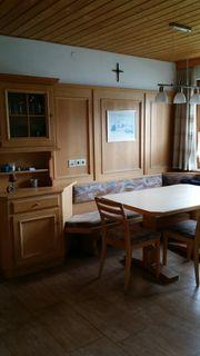 Verkaufe Tischler Eckbank mit Wandverbau