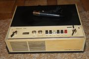 Loewe Opta Tonbandgerät mit Zubehör