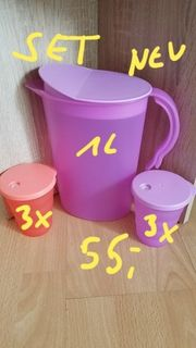 Tupperware Junge Welle-Trink-Set neu