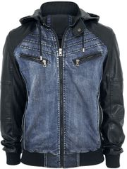 Jeansjacke Two Minutes To Midnight