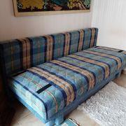 Sofa ausklappbare Liege