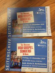 2 Eintrittskarten Gospelchor