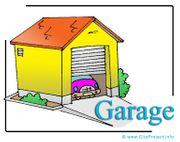 2 Garage Stellplätze