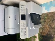 Laserdrucker und Scanner und Fax