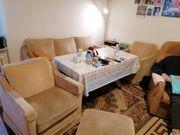 Couch Garnitur 3 sitzer und
