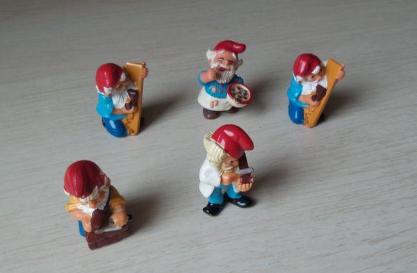 Kinder Überraschungseier Figuren Zwerge