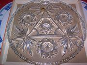 Original Walther Glas Tortenplatte Bolero