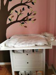 Ikea sundvik wickeltisch und hängekorbe