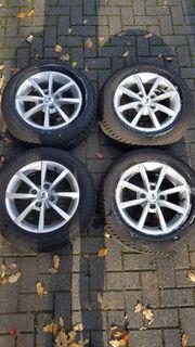 Winter Kompletträder Reifen Continental alu