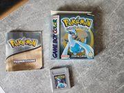 Pokemon Silberne Edition OVP GameBoy