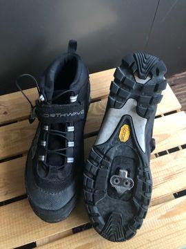 Fahrrad Schuhe für Klick Pedale gr 43