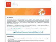 Legal Assistant Assistent Rechtsabteilung m