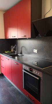 Neuwertige Segmüller Küche in knallrot