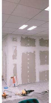 Gipser und maler Renovierung