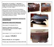 Aktentaschen aus Echtleder NEUWARE Restposten -