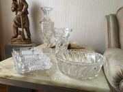 Bleikristallvasen und-schalen