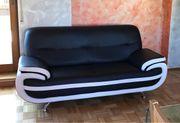 2 x neuwertige Couch