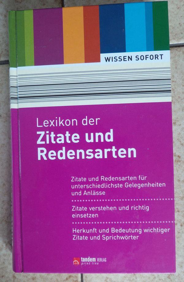 Lexikon Der Zitate Und Redensarten In Bregenz Fach Und